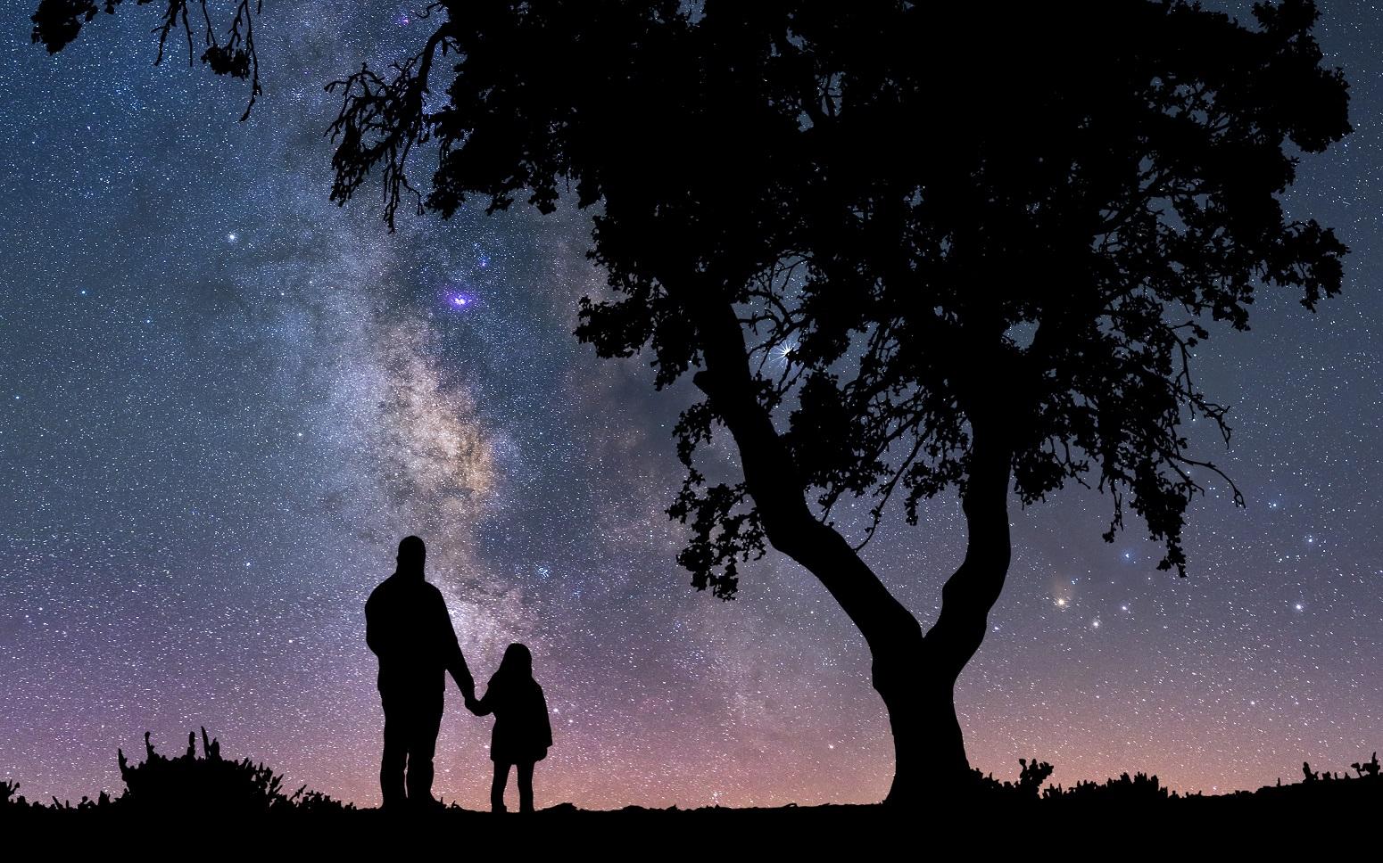 estrellas en cazorla viajacontuhijo