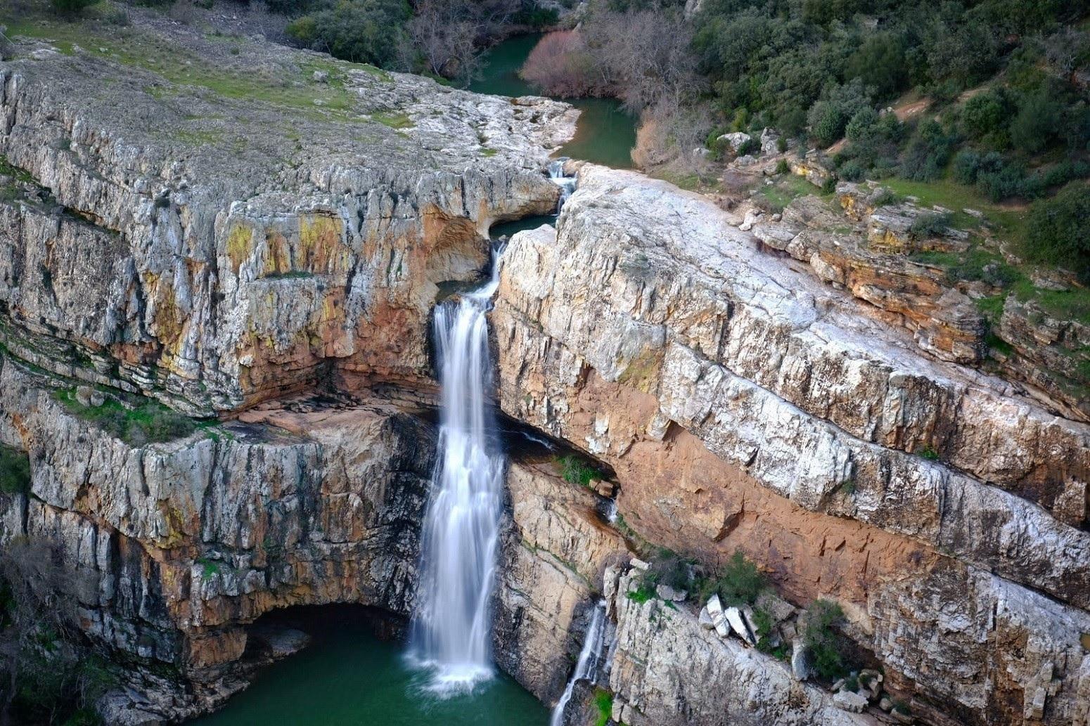 la cascada cimbarra en cazorla