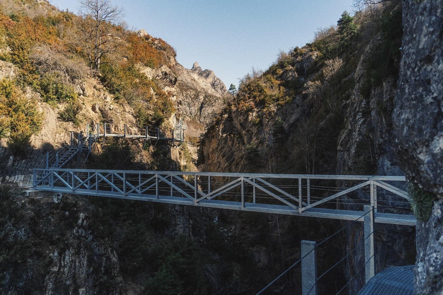 pasarelas valle