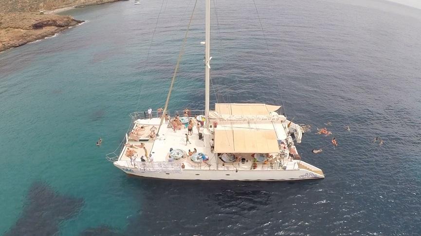 catamarán Ole 2020 vacaciones monoparentales