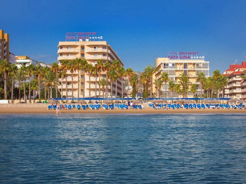 hotel peñiscola servigroup monoparental