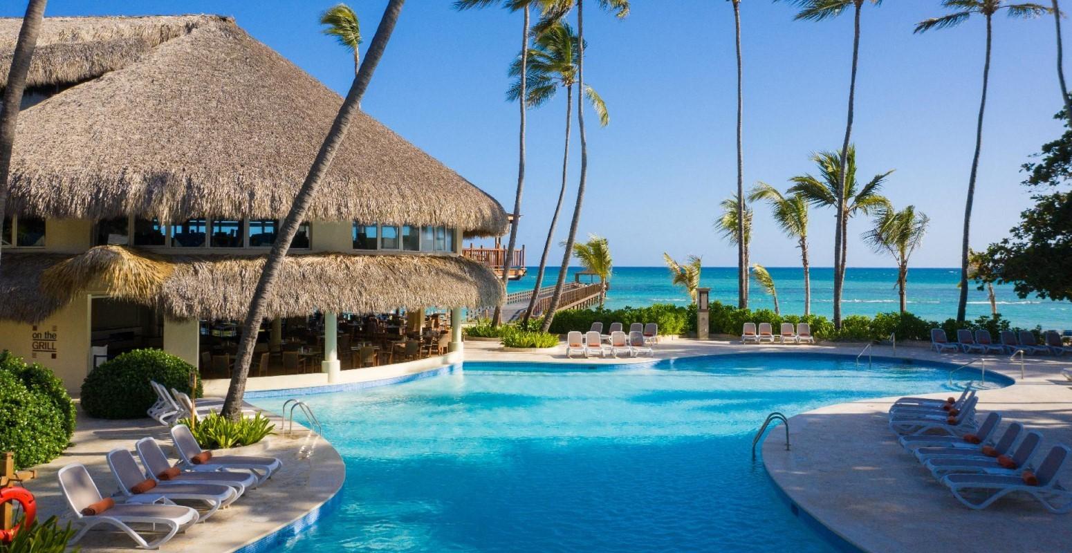 piscina hotel caribe
