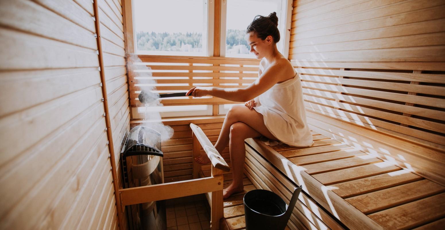 sauna salla navidad en laponia
