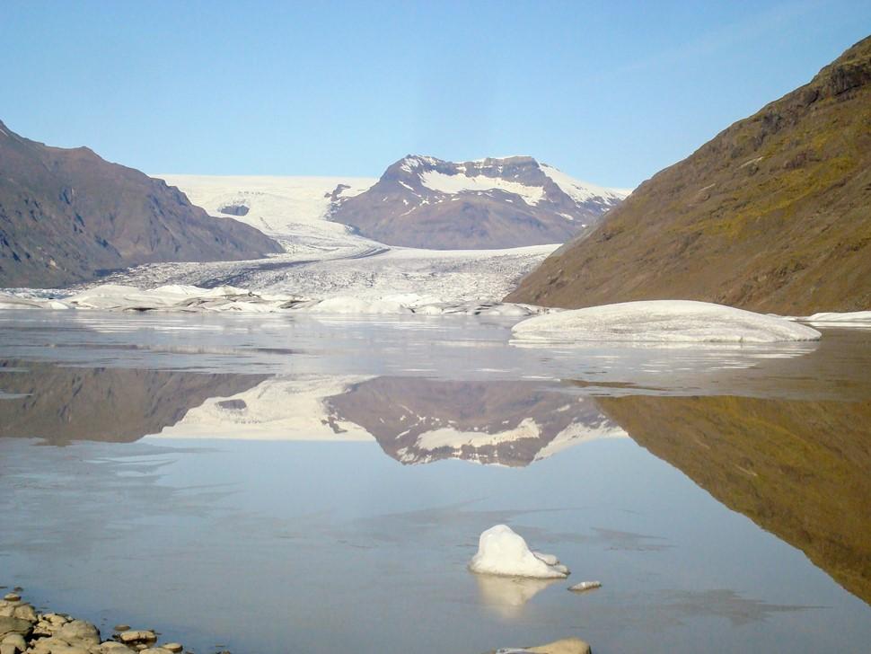 Amalur M. Islandia al completo Verano 2017 Glaciar Heinabergsjokull