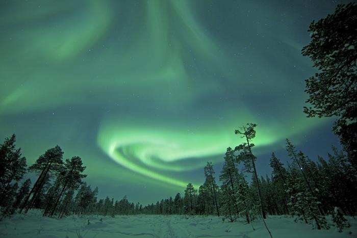 aurora boreal salla