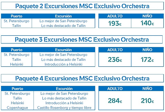 excursiones orchestra