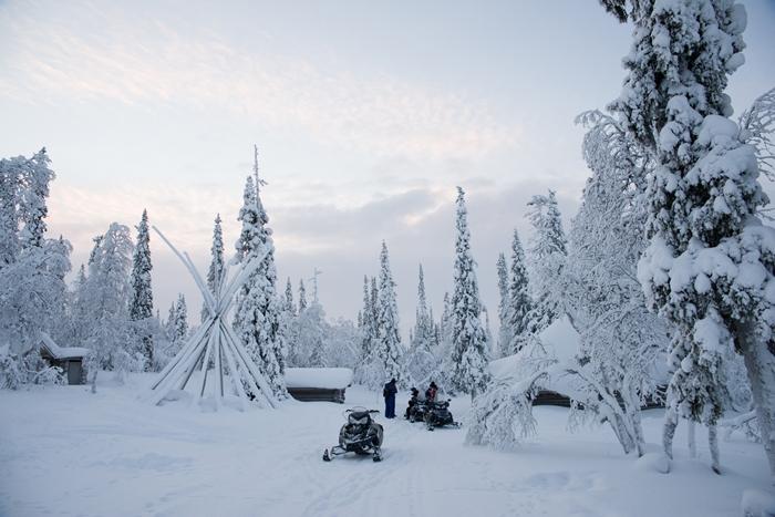 moto nieve salla